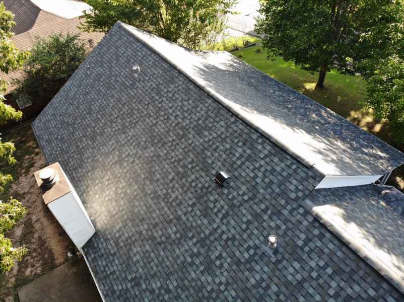 CertainTeed Landmark shingle in Georgetown Gray